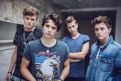 UK発の次世代ポップバンドTHE VAMPSの来日公演決定