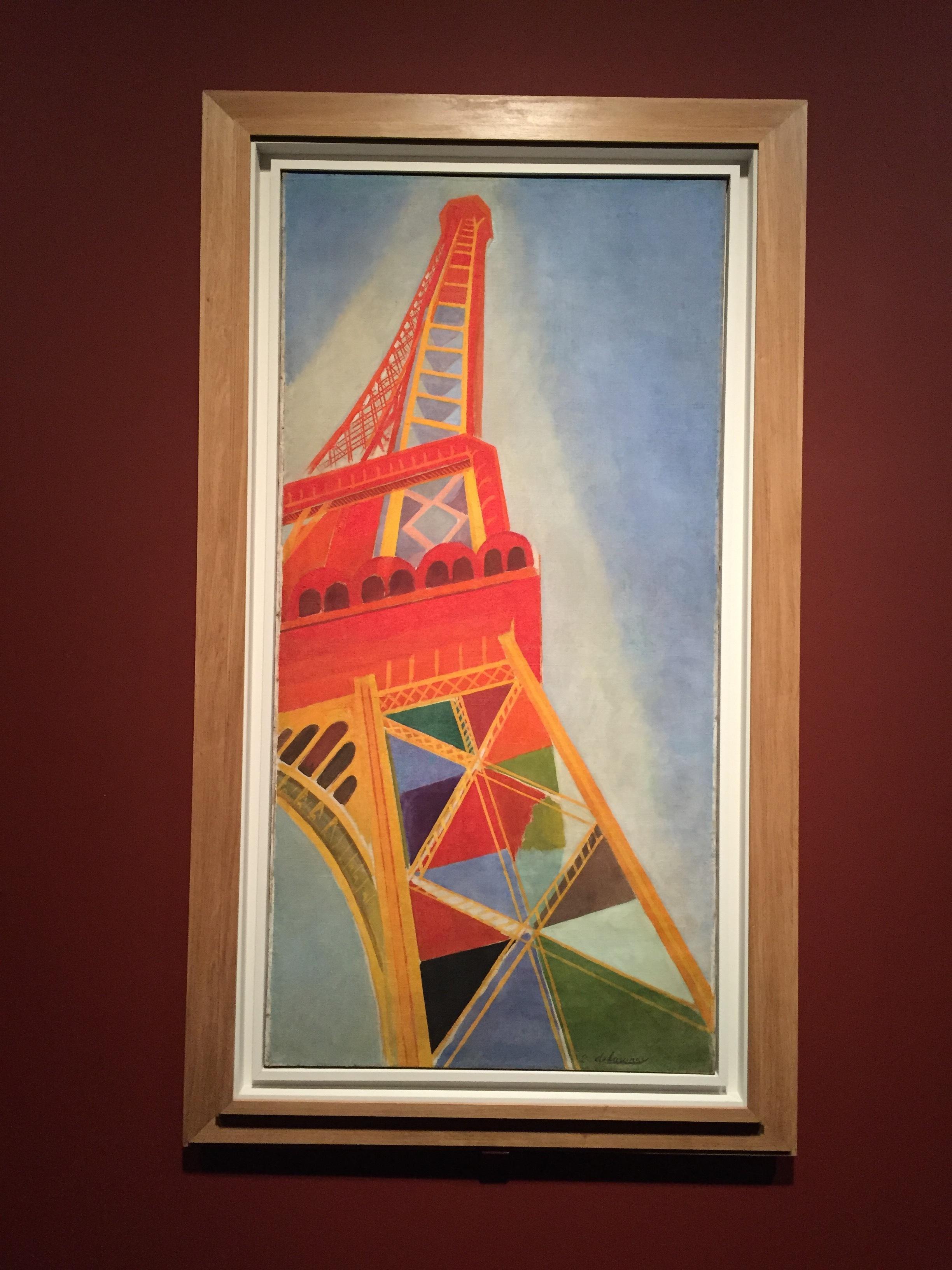 ロベール・ドローネー《エッフェル塔》1926年 ⓒgirls Artalk