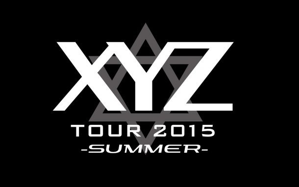 「XYZ TOUR 2015 -SUMMER-」ロゴ