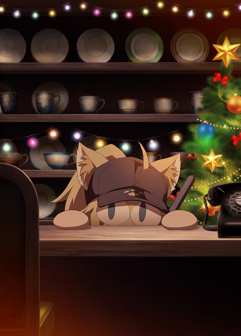 『Fate/Grand Order』完全新作ショートアニメ ティザービジュアル (C)TYPE-MOON / FGC PROJECT