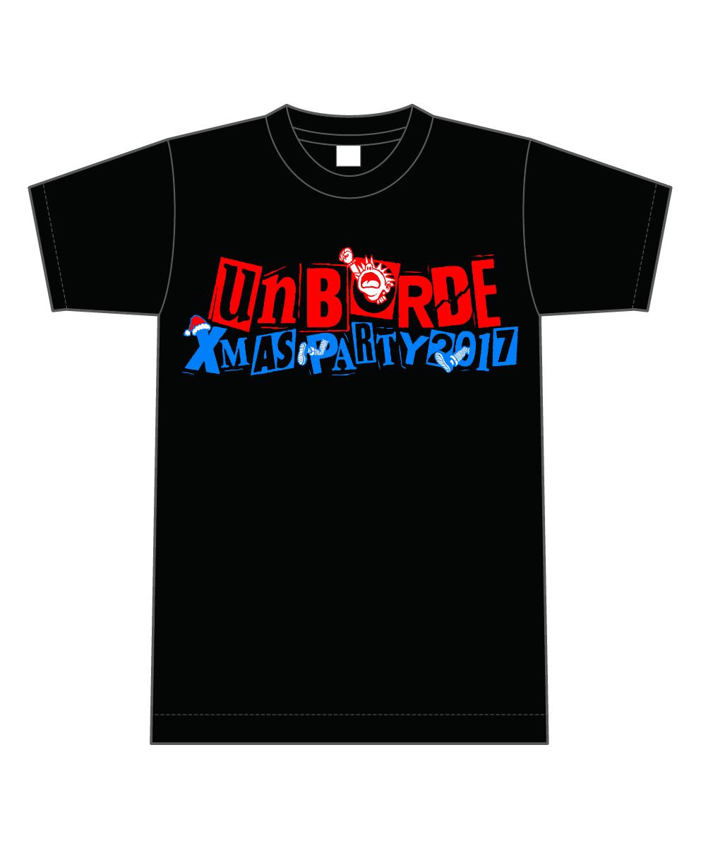 『unBORDE Xmas Party 2017』Tシャツ