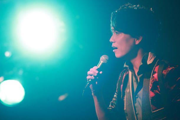 「1936~your songs II~」リリース記念イベントより、山崎育三郎。