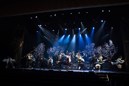 中河内雅貴が久しぶりの2.5次元舞台に「喜びを実感」 ミュージカル『薄桜鬼 志譚』オフィシャルレポート到着