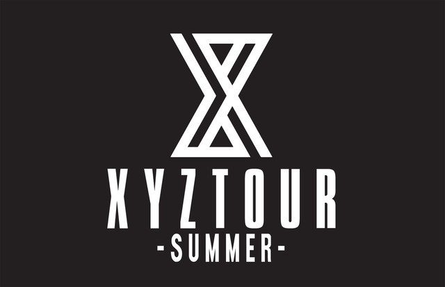 「XYZ TOUR 2018 -SUMMER-」ロゴ