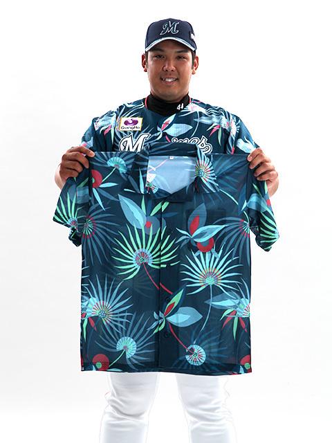 1日(土)には選手が着用する限定ユニフォームと同柄のサマーシャツを来場者にプレゼント