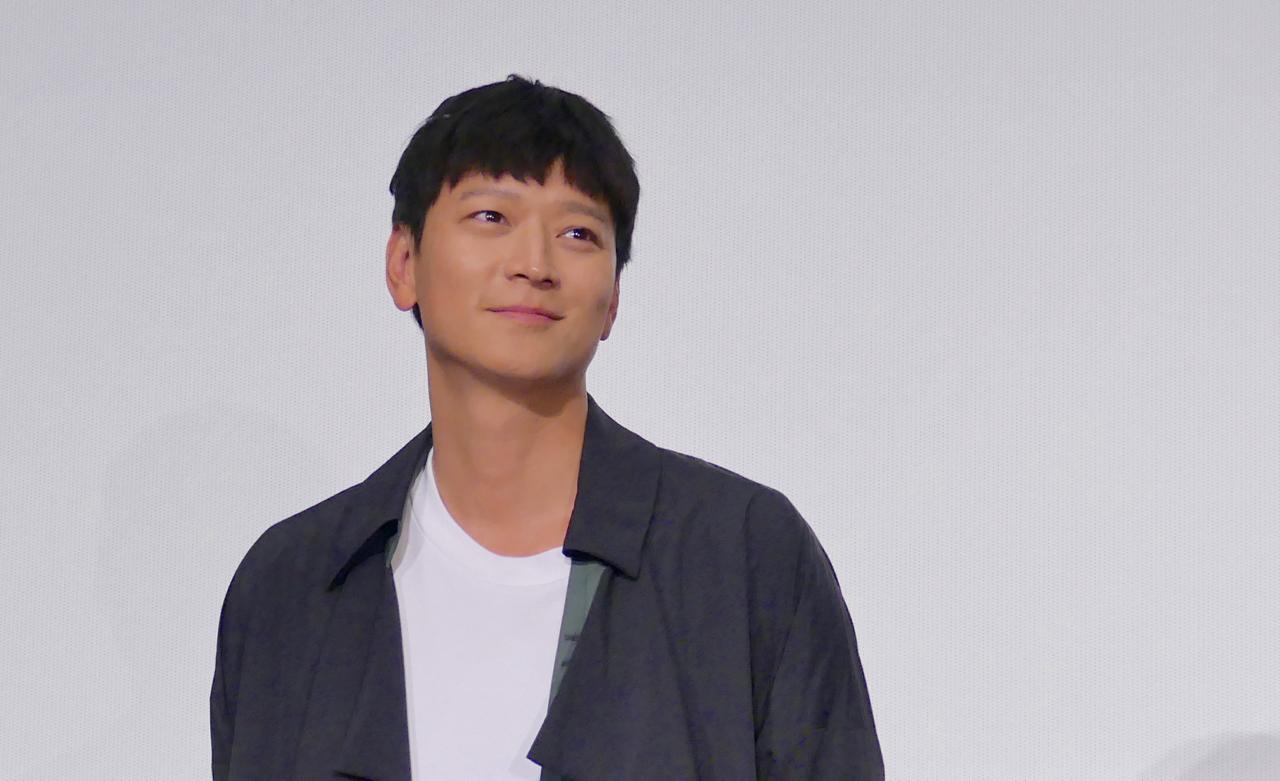 カン・ドンウォン 撮影=三輪泰枝