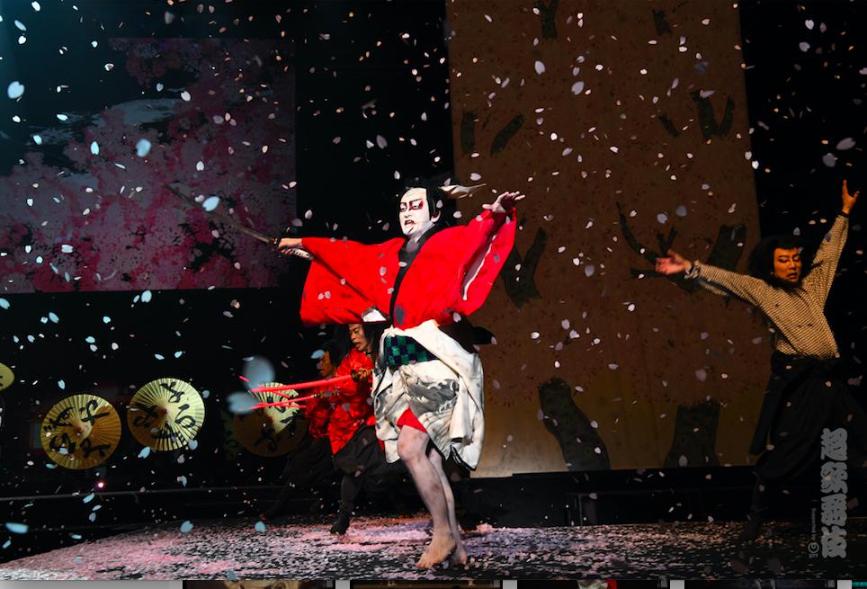 昨年2017年の「超歌舞伎」の様子