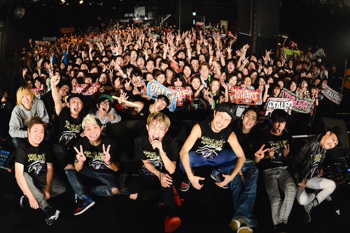 TOTALFAT / 175R / ENTH Photo by Azusa Takada