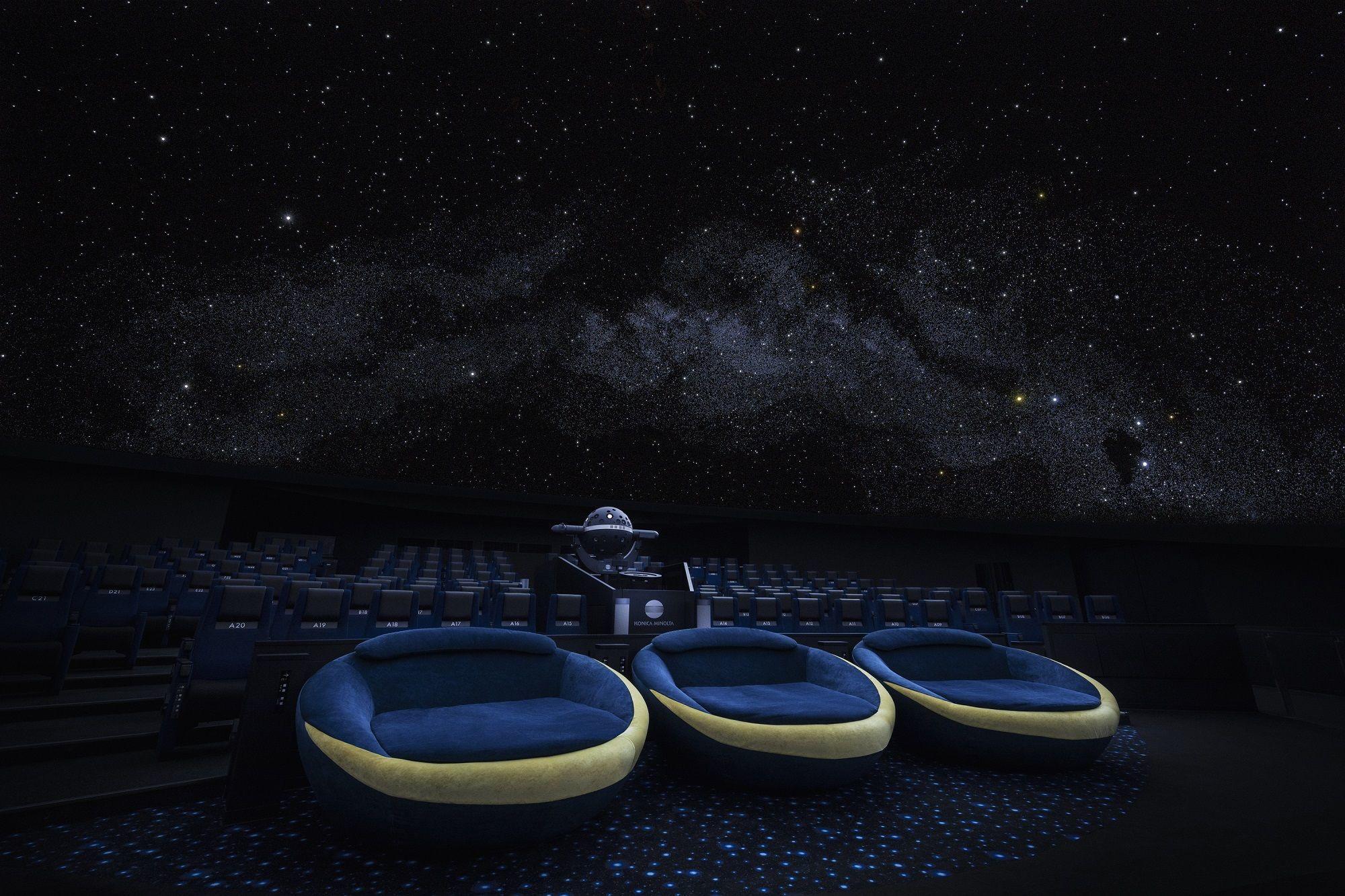 プラネタリウム天空施設写真