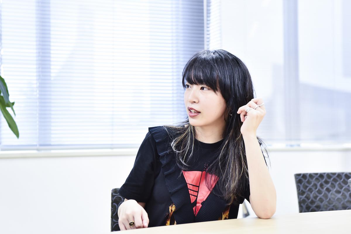 ヒグチアイ 撮影=高田梓