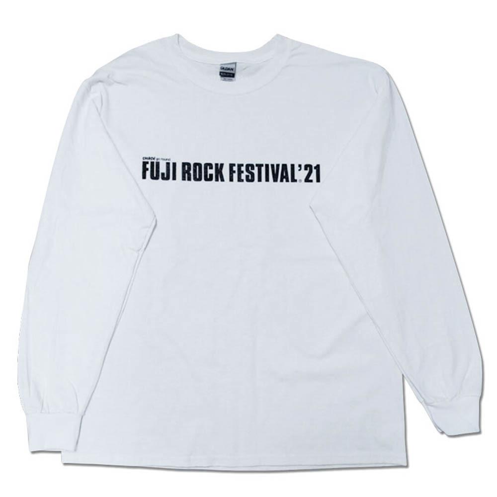 FUJI ROCK FESTIVAL'21 ロゴ ロングTシャツ