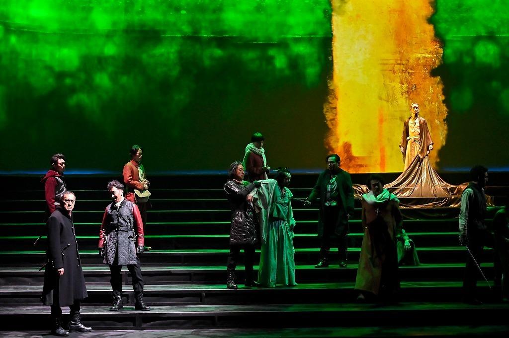 舞台『ピサロ』  撮影:阿部章仁