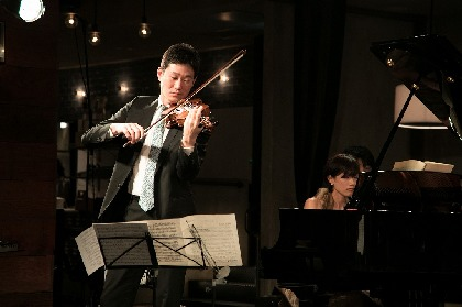 NHK交響楽団などオーケストラで活躍するヴァイオリニスト・大宮臨太郎がデュオ、トリオ演奏で見せた素顔
