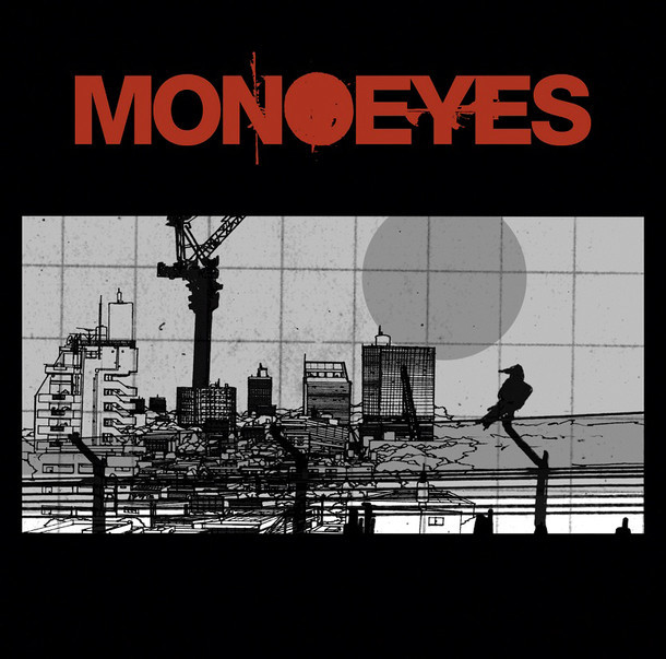 MONOEYES「A Mirage In The Sun」ジャケット