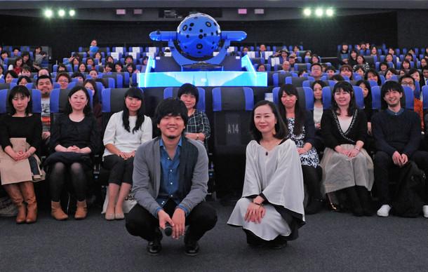 「君と見る流れ星 starring 秦 基博」先行試写イベントの模様。