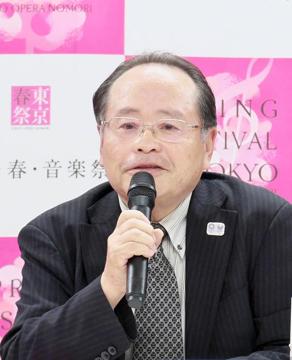村上耿二(上野「文化の杜」新構想実行委員会 事務局長) (c) Naoko Nagasawa