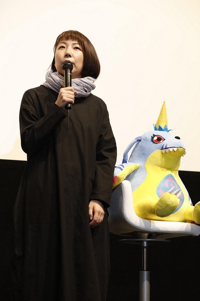 山口眞弓(ガブモン役)