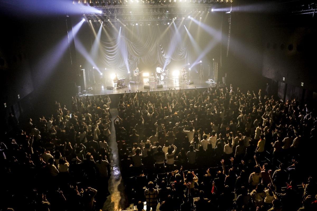 石崎ひゅーい TOUR2017「鬼退治」ファイナル ZEPP DIVER CIITY  撮影=HAJIME KAMIIISAKA