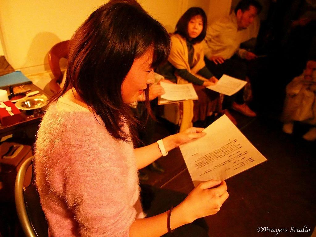 俳優体験をする観客(オフライン開催時)