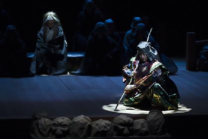 萬斎「能と狂言は表裏一体」~狂言劇場 特別版 能『鷹姫』・狂言『楢山節考』開幕