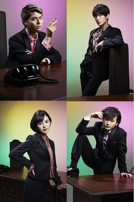 (上段左から)多和田任益、菊池修司(下段左から)兒玉遥、鳥越裕貴