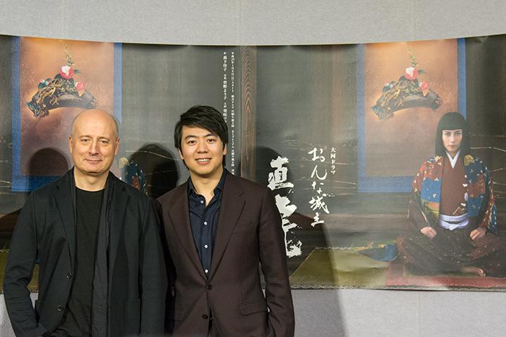 左:パーヴォ・ヤルヴィ 右:ラン・ラン