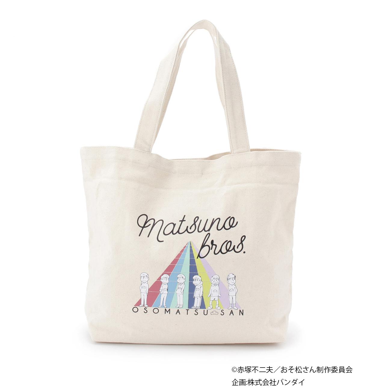 おそ松さんトートバッグ ¥3,490/ホワイト・ブルー系