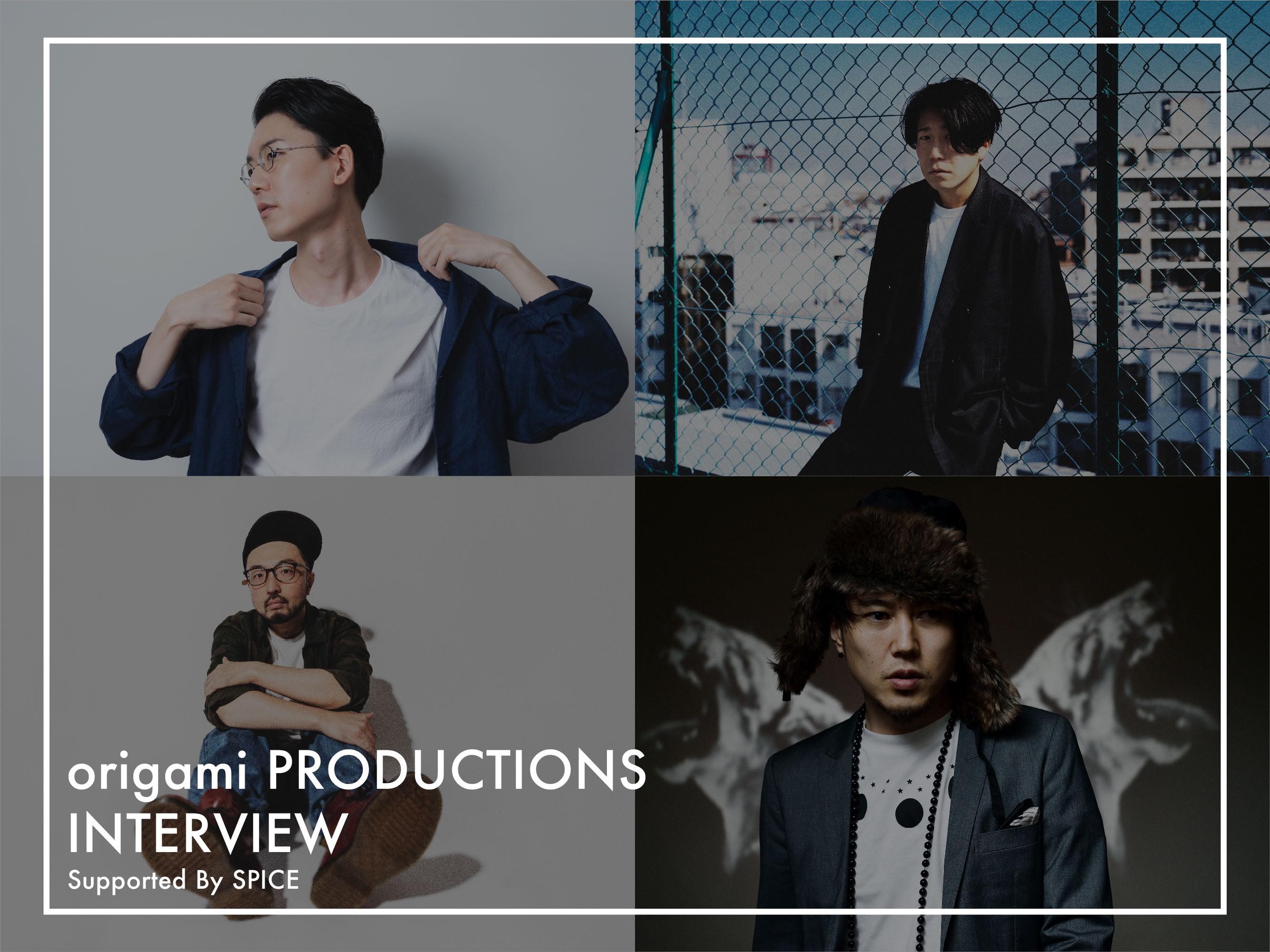 origami PRODUCTIONS(Shingo Suzuki(Ovall)、Kan Sano、Michael Kaneko、Hiro-a-key)