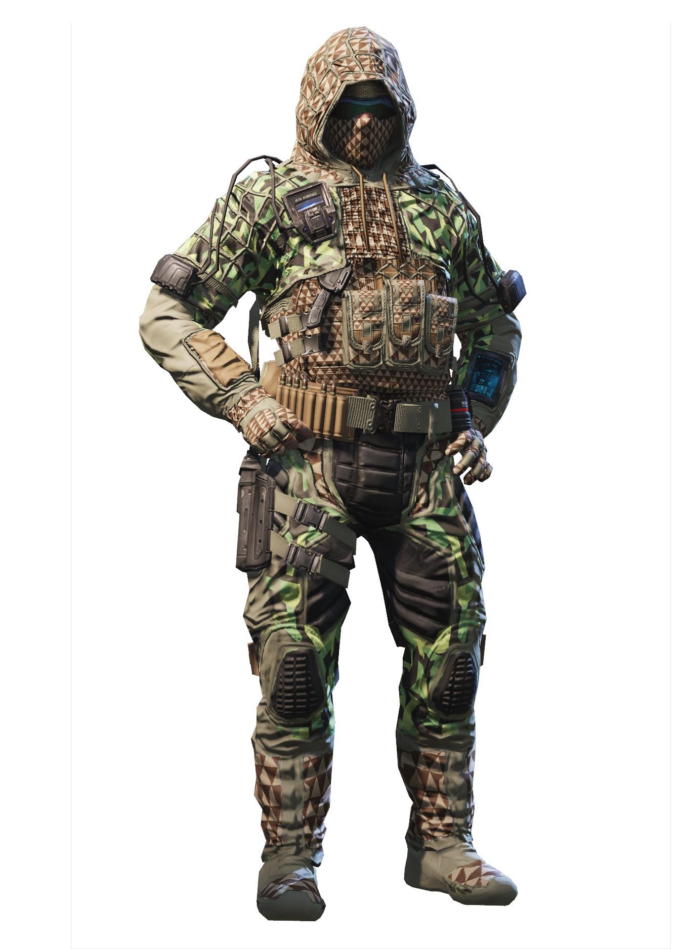 Special Ops 5 – Monster Green モンスターグリーン迷彩の特殊部隊員5
