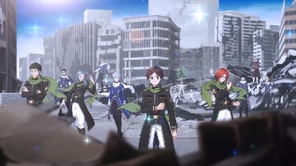 スクエニ新作スマホゲーム『ワールドエンドヒーローズ』ティザーサイト&PV公開