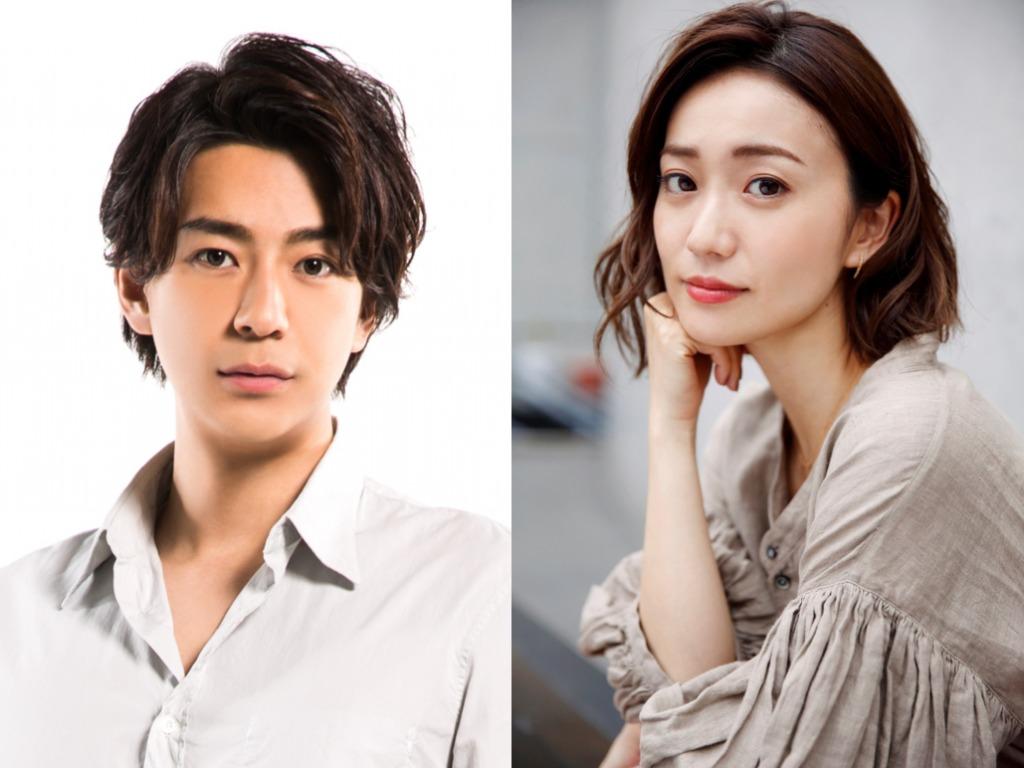 左から、三浦翔平、大島優子