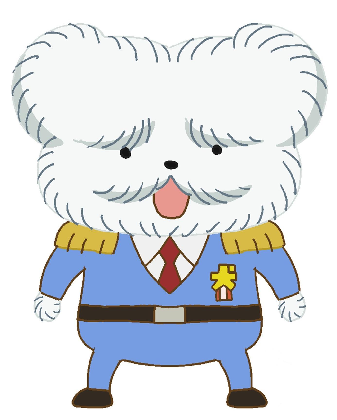マルチーズ署長 (C)Troll/POPLAR  (C)2020東映まんがまつり製作委員会