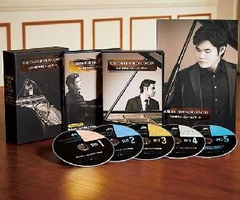 ピアニスト・辻井伸行、初公開映像も収めたDVD5枚組『辻井伸行のサロン・コンサート』リリース
