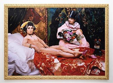 森村泰昌『「私」の年代記』展がシュウゴアーツで開催 森村芸術の34年間の軌跡をたどる