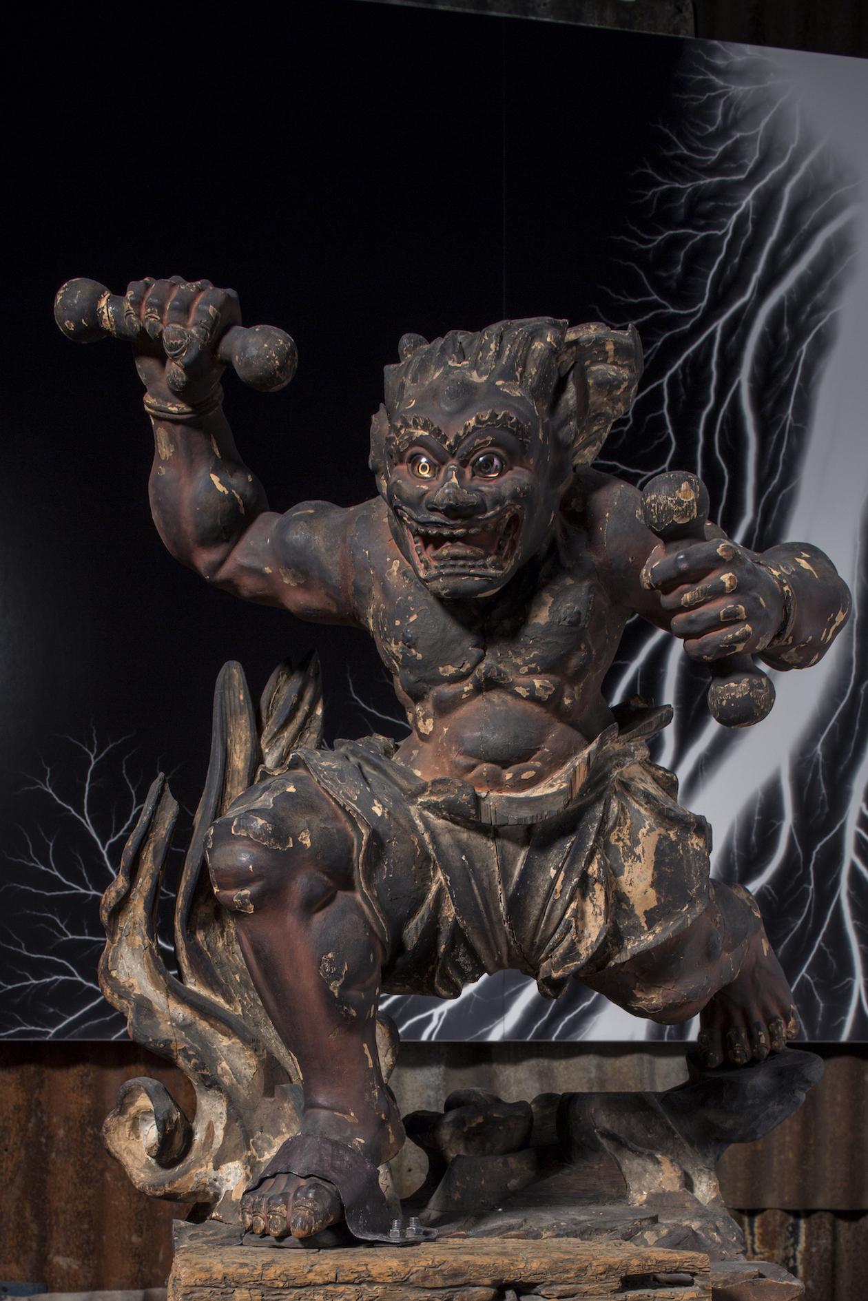 雷神 鎌倉時代 ©Sugimoto Studio