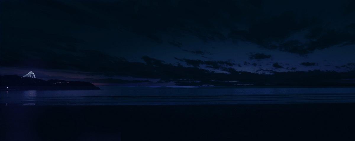 オーシャンデッキからの夜景