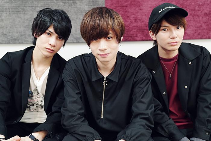 (左から)二葉勇、安井一真、糸川耀士郎