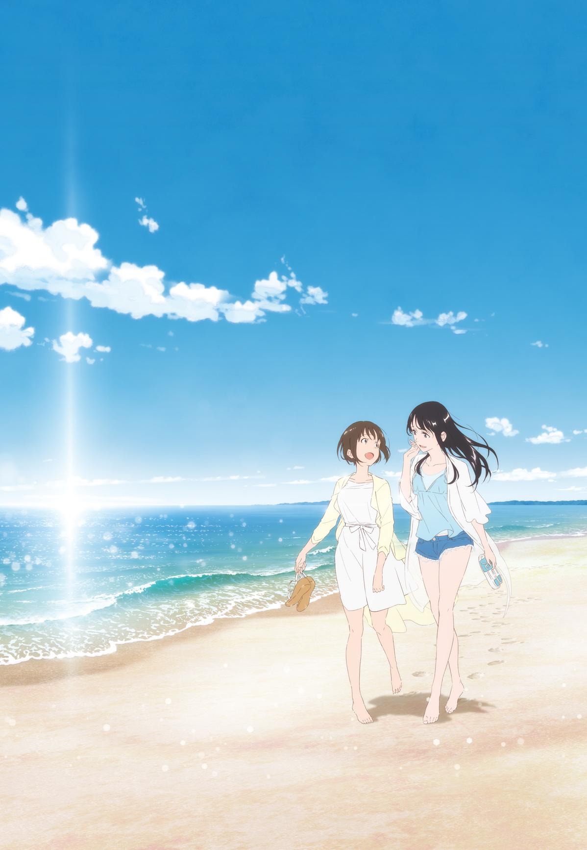 劇場OVA『フラグタイム』メインビジュアル ©2019 さと(秋田書店)/「フラグタイム」製作委員会