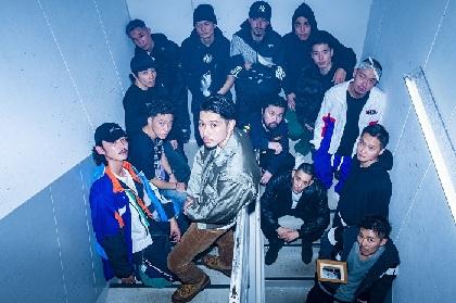 KANDYTOWN 全33曲を披露したZeppツアー『ADVISORY TOUR'19』Zepp Diver City東京公演が終了