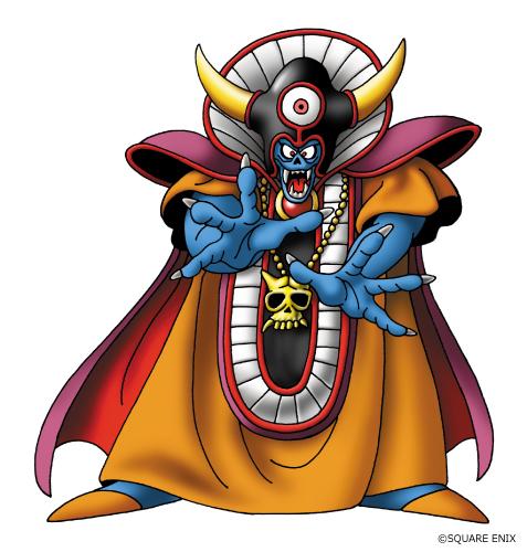 大魔王ゾーマ。リアル脱出ゲーム×ドラゴンクエスト『大魔王ゾーマからの脱出』では大塚明夫氏が声優を務める。