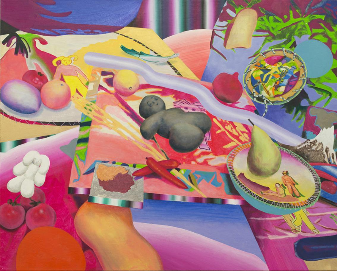 Sleeping Stone, 2017, oil on canvas, 120cm x 150cm, ©︎Aya Ito