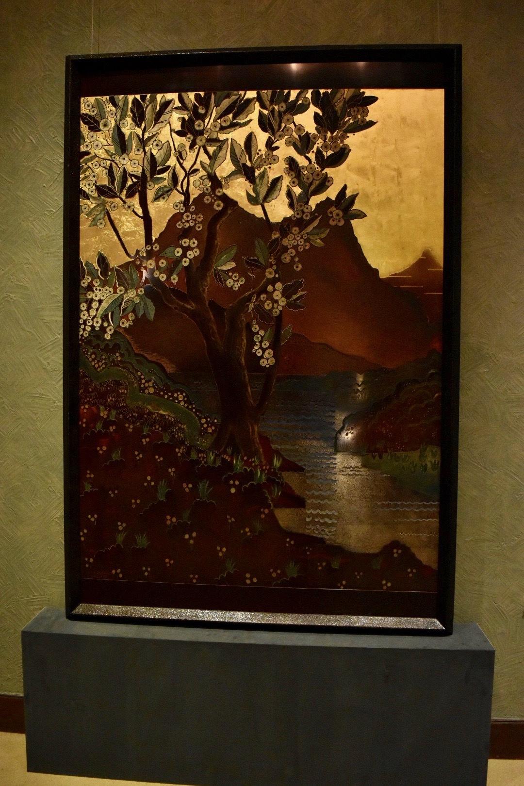 《栗の木》 ジャン・デュナン 1922年 東京国立近代美術館蔵