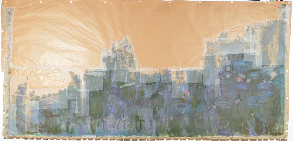 クロード・モネ《睡蓮、柳の反映》 1916年 油彩、カンヴァス 国立西洋美術館(旧松方コレクション)