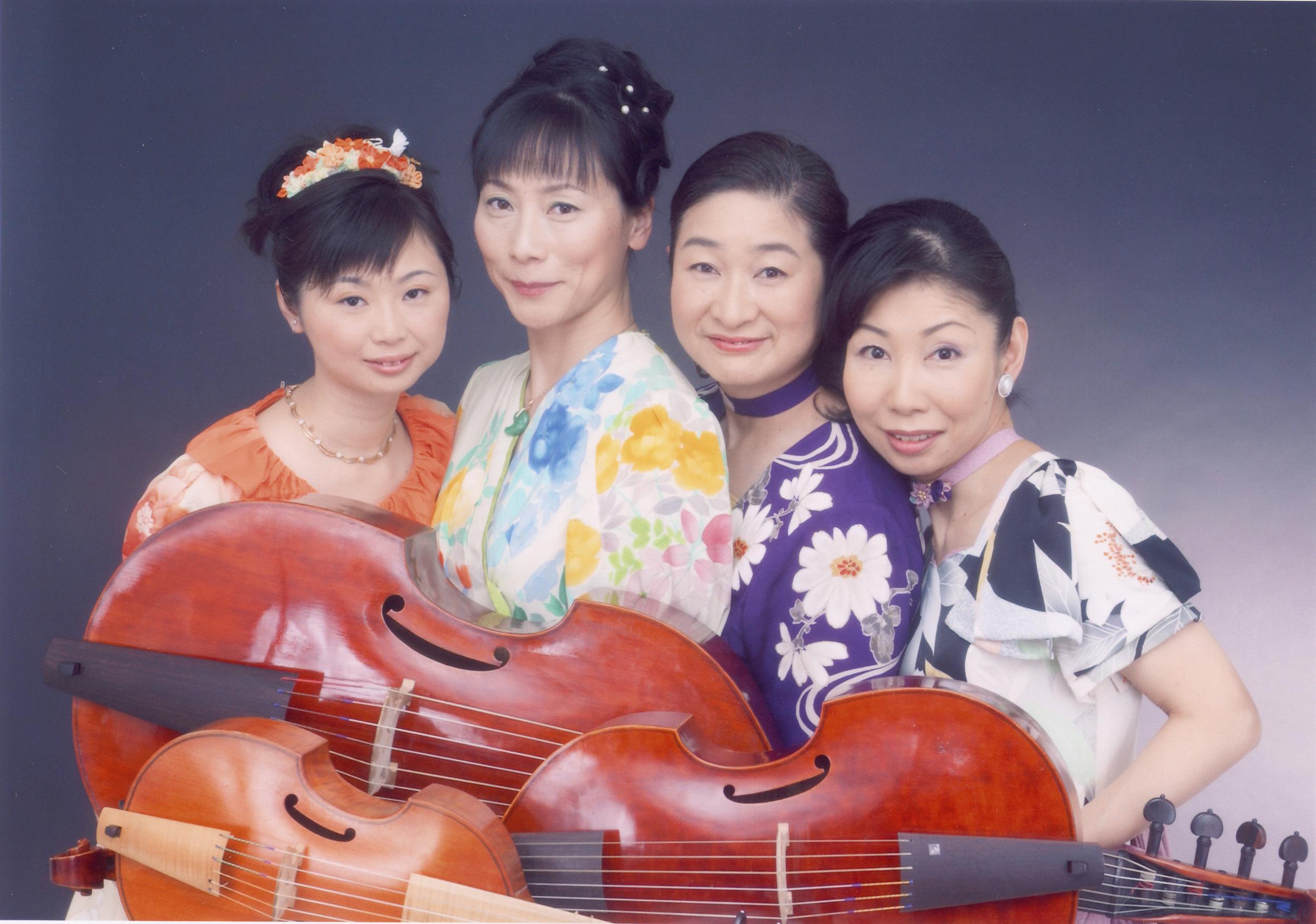 神戸愉樹美ヴィオラ・ダ・ガンバ合奏団はヘンリー・パーセルの名曲を演奏する