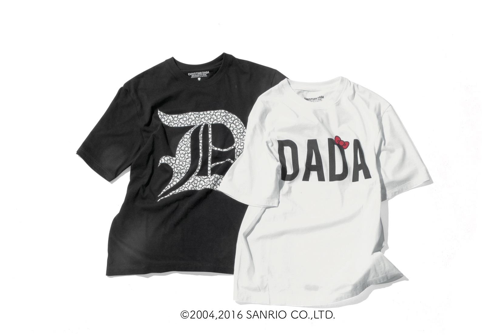 CHRISTIAN DADA Tシャツ 各10,800円