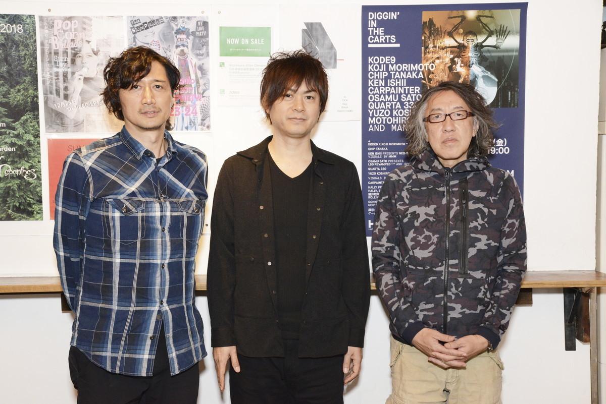 写真左より川島基宏氏・古代祐三氏・田中宏和氏(Chip Tanaka)