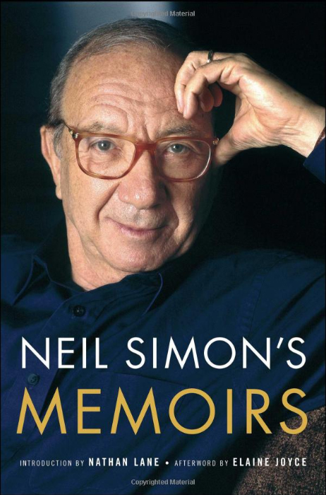 「Neil Simon's Memoirs」Simon & Schuster; Reprint版より