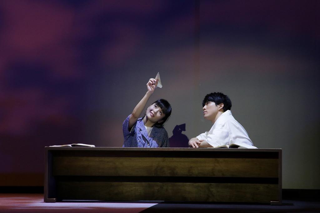 (左から)田村芽実、入野自由 撮影:阿久津知宏