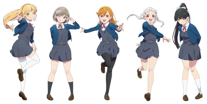 『ラブライブ!スーパースター!!』メインキャラクター (C)プロジェクトラブライブ!スーパースター!!
