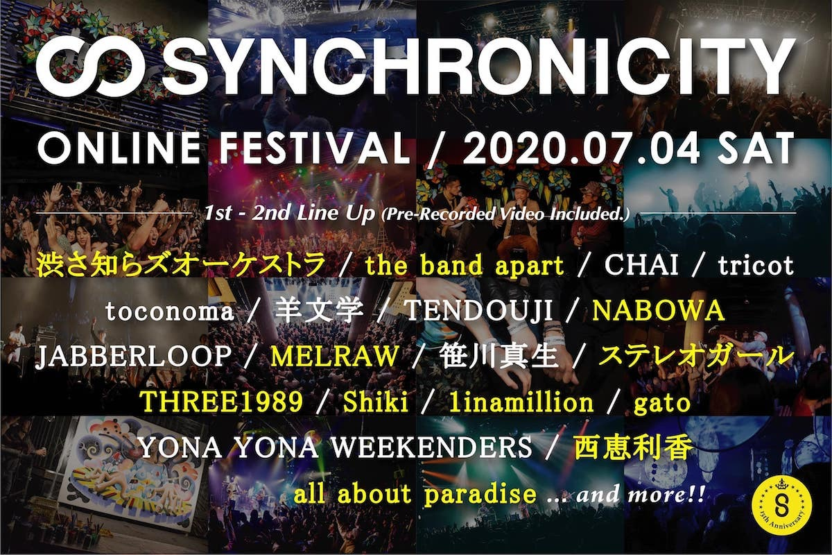 SYNCHRONICITY2020 ONLINE FESTIVAL